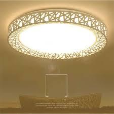 Bird Ceiling Light Fixture Ac220v 24w Led Ceiling Light 17cm Birds Nest Shape Led Ceiling Lamp Flush Mount Bedroom Fixture Lamp For Living Room