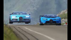 The new bugatti divo hypercar is the french company's most extreme production they've ever created. Bugatti Vision Gt Vs Bugatti Chiron At Highlands Youtube