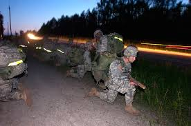 u s department of defense photo essay  u s army paratroopers pull security along a road while en route to an objective as