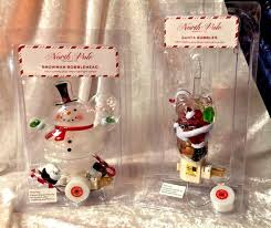 Bubble Night Lights Santa With Bubble Candle Or Snowman With Bobblehead