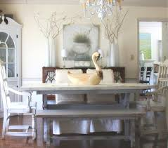 Distressed Kitchen Table Stylish Farmhouse Dining Romantic Or - Distressed dining room table and chairs