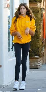Cindy Crawfords Daughter Kaia Gerber Lands First Vogue