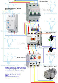 three phase wiring diagram motor thermal overload relay principle phase controller wiring phase failure relay diagram di on line three phase wiring diagram motor thermal overload relay principle