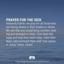 Christian Prayer For Healing Quotes Best of Prayer For The Sick What I Believe Pinterest Godly Quotes