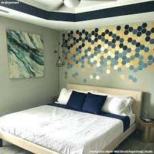 bedroom feature wall ideas for teenage girl stencil designs decorating to sleep in style modern art master bedroom wall