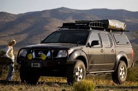 nissan frontier with are series v camper shell with the swing up nissan frontier camper top at Nissan Frontier Camper