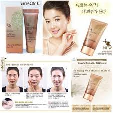 welcos no makeup face bb cream whitening spf30 pa 50 ml welcos no makeup face blemish