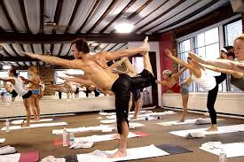 bikram or other hot yoga which is performed in rooms heated up to a sweltering