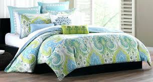 green and blue comforter sets lime green comforter set brilliant contemporary echo bedroom with blue bedding green and blue comforter