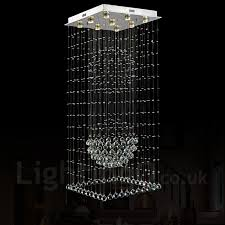 modern ceiling lights chandeliers 9 lights modern led crystal ceiling pendant light indoor