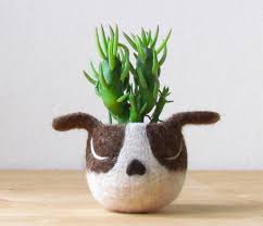Accessories: Cute Cat Planters - Indoor Gardens