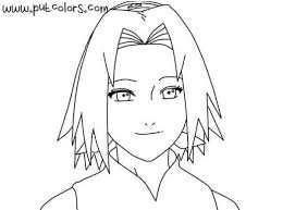 Small Picture Naruto coloring pages for Manga lovers Sakura