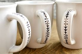 You can easily change the color of mug by applying fill and change the artwork by using smart object. How To Make Diy Ceramic Mugs Southern Crush At Home
