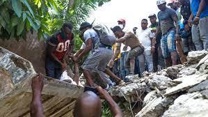 Strong Earthquake Rocks Haiti, Parts of ...