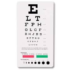 Eye Test Chart Amazon Co Uk