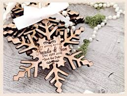 Winter Wedding Save The Date Save The Date Unique Save The Date Invites Wooden Save The Date