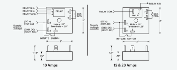 tgpl single shot relay timer solid state dc voltage