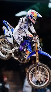Motocross James Stewart Jump Ama Supercross Js7 Wallpaper