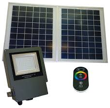 outdoor solar powered remote controlled color changing led flood light contemporary outdoor flood and spot lights by solar goes green