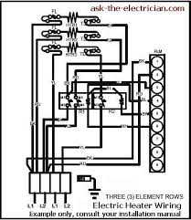 volt electric furnace wiring electric furnace wiring diagram