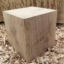 solid oak cubes oak beam offcuts