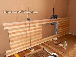diy wooden countertop wood how to free tutorial and instructions for how to make wood butcher block s diy wood countertop laundry room diy wooden countertop