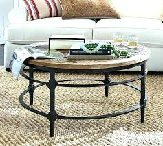 round outdoor coffee table ideas