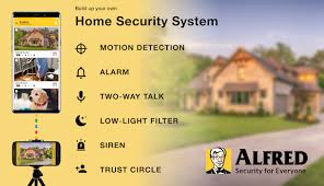 Build your own home security system Improvement Alfred Home Security Camera Appgrooves Alfred Home Security Camera By Alfred Labs Inc House Home