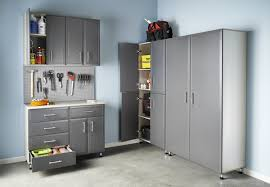 closetmaid s progarage wood storage system dramatically increases home storage efficiency by efficiently utilizing garage wall space