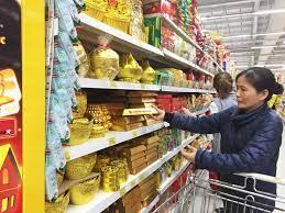 Bánh kẹo, mứt tết Mậu Tuất: Hàng Việt nhãn mác rõ ràng, áp đảo hàng ngoại -  FOSI:Công bố thực phẩm-Vệ sinh an toàn thực phẩm