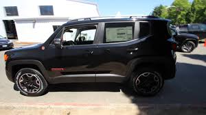 jeep 2015 renegade black.  2015 2015 Jeep Renegade Trailhawk  Black FPB22155 Redmond Seattle   YouTube To Y