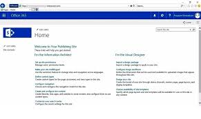 sharepoint online templates creating publishing site at sharepoint online root cloud decoded