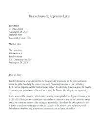 Letter Format For Internship Application Internship Application Template