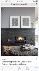 Tile Fireplace, Fireplaces, Foyers, Hallways, Fire Places, Entrance Halls,  Mud Rooms, Fire Pits, Front Porch
