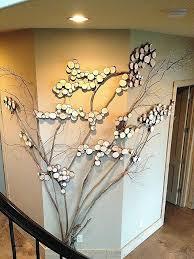 twig wall decor wood for wall decor elegant three sided wall art tree art twig art