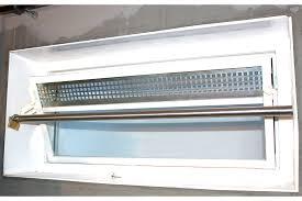 Trobak Kellerfenster Sicherungsstange Edelstahl Für Fenster 50cm