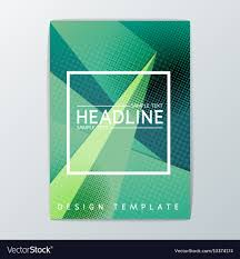 Brochure Background Design Abstract Brochure Background Design Royalty Free Vector