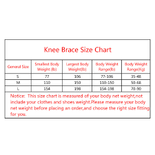 Knee Brace Size Chart Knee Brace Sleeve For Women And Men Knee Compression Sleeves