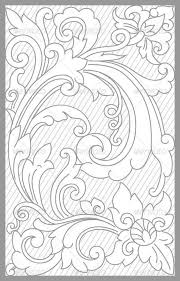 leather tooling pattern more