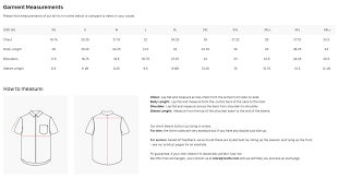 T Shirt Size Guide Usa Coolmine Community School