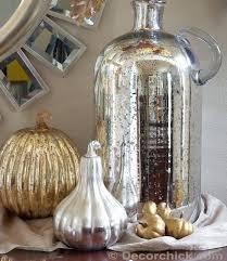 pottery barn mercury glass vase display decor com