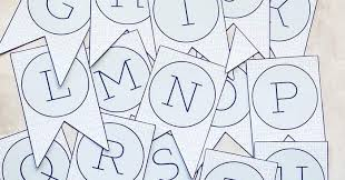 Printable Letter For Banners Free Printable Banner Letters I Should Be Mopping The Floor