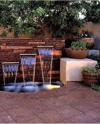 Waterfall Home Decor Lawn Garden Natural Backyard Waterfall Decor With Structure Newest