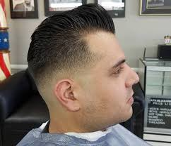 Low Fade Haircut 15 Trendy Low Taper Skin Comb Over Fade Haircuts