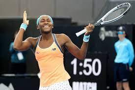 "WTA Adelaide: Cori ""Coco"" Gauff im 3 ..."