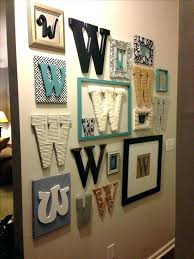 wooden initial wall decor monogram large decorative letter a hangings on ideas fresh wall decoration
