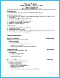 Bartender Resume No Experience Template - Http://www.resumecareer ...