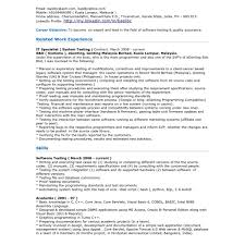 Software Tester Resume Sample Testing Resume Sample 100 Software Tester Resume Sample With in 10
