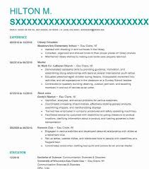 Library Volunteer Resume Sample Volunteer Resumes LiveCareer Unique Resume Volunteer Experience
