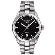 tissot watches quality swiss watches ernest jones watches tissot men s stainless steel black bracelet watch product number 4921437